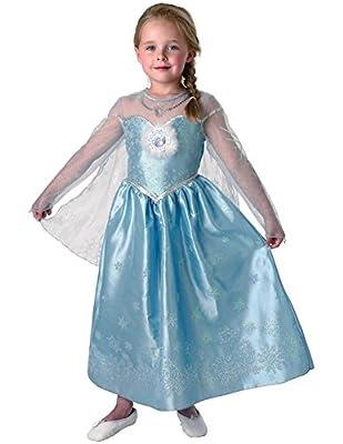 Rubies Elsa - Deluxe - Disney Frozen - Chidlrens Disfraz de Rubies