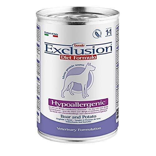 Exclusion Hypoallergenic cinghiale e patate, 400 grammi