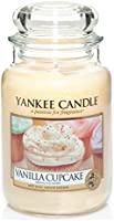 Yankee Candle Vanilla Cupcake Jar Candle - Large