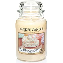 Yankee Candle 1093707E Vanilla Cupcake Grosses Jar