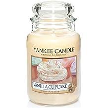 1093707E Yankee Candle, vela perfumada en un frasco, grande, amarillo (Gelb)