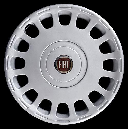 Generico Fiat Multipla COPRICERCHIO BORCHIA Uno (1) CODICE 1259 LR Logo Rosso Diametro 15'