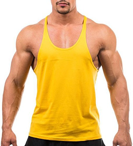 LemonGirl Mens Tank Tops Sleeveless Gym Shirts