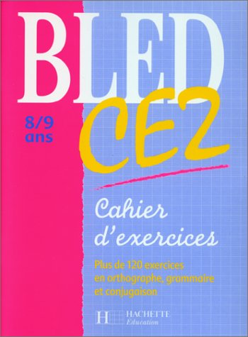 Cahier Bled, CE2