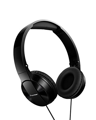 Foto Pioneer MJ503 Cuffie On-Ear con cavo (qualità audio elevata e bilanciata, archetto imbottito, pieghevole e facile da trasportare, certificato per iPod, iPhone e iPad), nero
