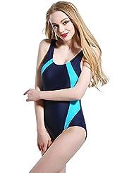AMYMGLL Mme bikini sport maillot de corps auto-culture haute maillot élastique protection de l'environnement
