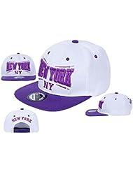 "Midi Shopping - Casquette Snapback Pas Cher Cap Hat Flatbrim ""New York"" CAP 48NY"