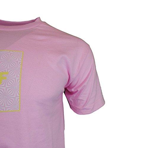HUF BOX LOGO UV PINK T-SHIRT Pink