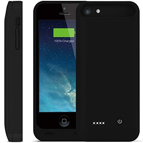 2400mAh MFI zertifiziert Erweiterter Schutz iPhone 5/5C/5S Akku Power Pack