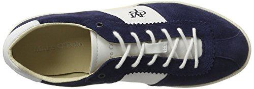 Marc O'Polo Damen 70213903501300 Sneaker Blau (Dark Blue)
