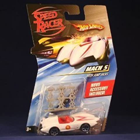 Speed Racer Hot Wheels Desert Rally Racer X and Mach 5 Hot wheel D. R. by Mattel