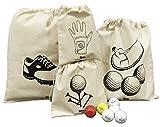 #10: Arka Golf Accessories Organizer (Set of 4 Bags)