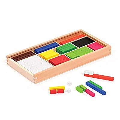 Cuisenaire Rods, EYFS & KS1 Mathematical Understanding, Exploring Place Value, STEM Play, ideal for indoor play, suitable for Schools, Nurseries or Home, eex-stem