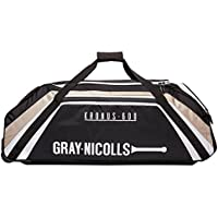 Gray-Nicolls Kronus 600Wheelie Tasche (2018)–Schwarz/Weiß/Gold