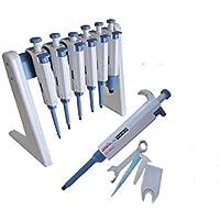 Baoshishan - Pipeta de pipeta ajustable para manipulación de líquidos, 1 unidad
