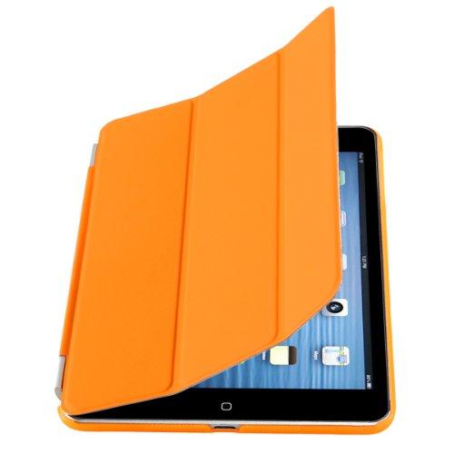 CoastCloud Smart Cover Arancione Cover posteriore per Apple iPad Mini 1 generazione Custodia Poliuretano slim più back cover Case più Pennino e Pellicola Omaggio