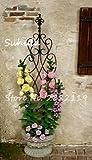 SwansGreen 100 Stück Rare Climbing Rose Blumensamen Efeu-Rebe Hängen Schöne Staude Blumen Bonsai Garland Hochzeit Dekoration Party 7