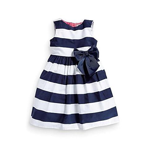 Vogholic Baby Girls Sleeveless Dress Blue Striped Dress bowknot Skirts Tutu Summer Dresses - multicolore - Medium