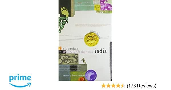 Buy The Wonder That Was India: 1 Book Online at Low Prices in India