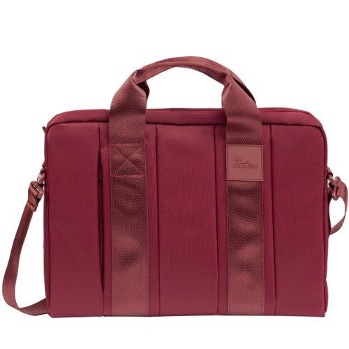 Rivacase - hochwertige Notebooktasche / Messenger Bag / Schultertasche für Notebooks bis 15,6