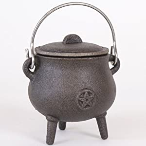 Attractive Small Cast Iron Cauldron