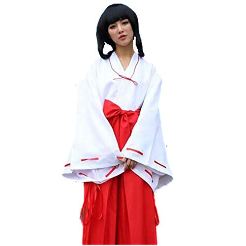 HaoLiao Kostüm, Inuyasha Anime Campanulaceae Cos Clothes, Witch Cos Clothes, Anime Kostüme,L
