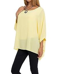 AO Bluse Fledermaus Longshirt Top Gr. S - XL