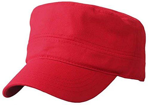 Minakolife - Casquette souple - Homme Rouge - Rouge
