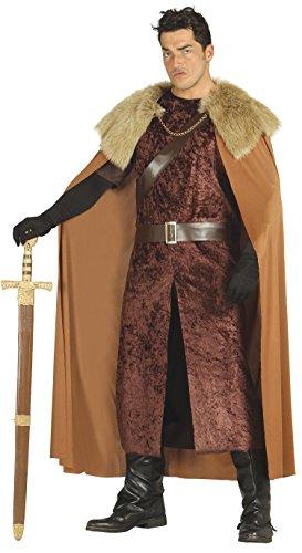 Barbaren Kostüm König - Guirca-Kostüm Erwachsene Herr Hochland, Größe 52-54(80832.0)