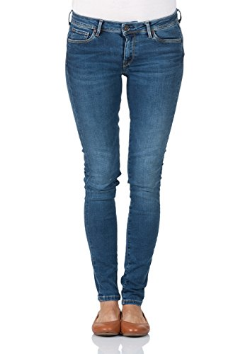0be2ca07f8c0 Pepe Jeans London Damen Jeans Lola - Skinny Fit - Blau - Midnight, Größe