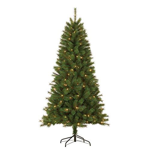 Black Box Trees 379106-01 Künstlicher Weihnachtsbaum Drummond Beleuchtet Höhe 185 cm Durchmesser...