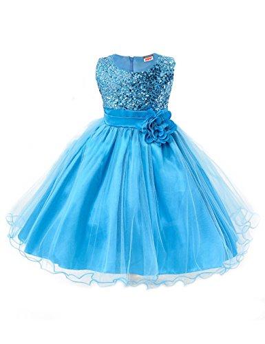 eid Pinzessin Kostüm - Blau - ca. Alter 8 bis 9 (in Jahren) (Halloween Kostüme Für Kinder Mädchen 9 Und Bis)
