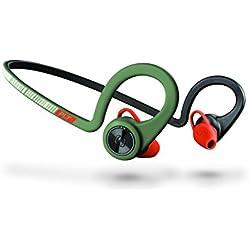 Plantronics BackBeat Fit II - Auriculares Deportivos inalámbricos, Color Verde