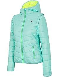NEW-4F H4L17 KUM002 Men/'s winter jacket,coat,Durable Water,navy melange