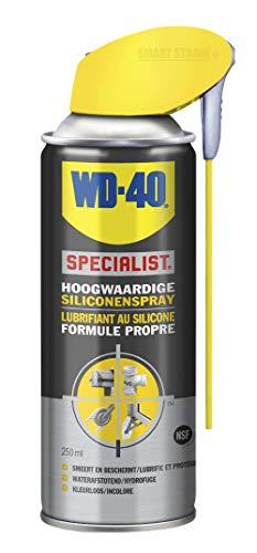 WD-40 1810142 31407 Hochwertige Silikonspray 250ml, Grey