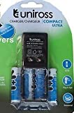 Uniross-Compact-Ultra-Charger-With-4-pcs-2100-NIMH-AA-Batteries