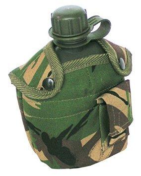 Armee Spec Combat Militär Wasser Flasche US GI British Grün Taille Gürteltasche Clip, Olivgrün -