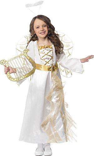 chen Engel Prinzessin Kostüm, Kleid und Haarreif, Größe: S, 39100 (Engel Prinzessin Kostüm)