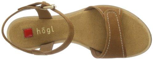 Högl 7-100422-13000, Semelles compensées femme Beige - Beige (sand 1300)