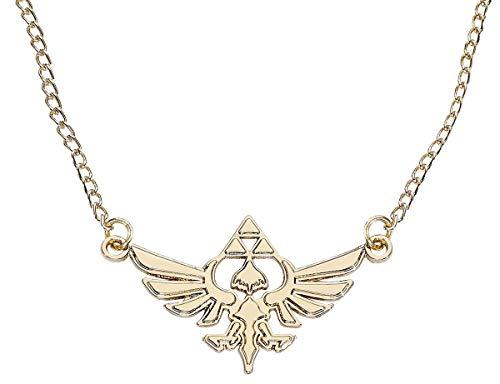 Unbekannt Zelda je101317zel Nintendo Golden Halskette Halskette mit Hyrule Metall Charm (One Size)
