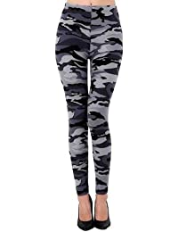 Oyshome Multicolor Army Print Stylish Women & Girls Jegging(28 to 32 Size)