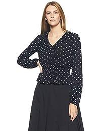 Marks & Spencer Women's Polka Dot Regular Fit Top 5304