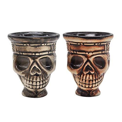 F-denghui, Seis Agujeros de cerámica Shisha Hookah Bowl Holder 68MM Narguile Kaloud Bowl Hookah Tobacco...