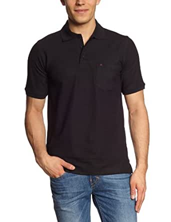 CASAMODA Herren Poloshirt Comfort Fit, Piqué 004510/80, Gr. 64 (6XL), Schwarz (80 schwarz)