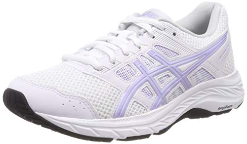 ASICS Gel-Contend 5 Scarpe da Running Donna, Bianco (White/Vapor 100) 38 EU