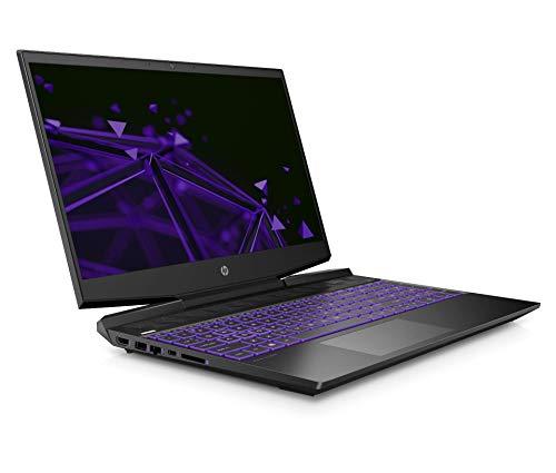 HP Pavilion 15-dk0047TX 2019 15.6-inch Gaming Laptop (ninth Gen Core i5-9300H/8GB/1TB HDD + 256GB SSD/Windows 10/4GB NVIDIA GTX 1650 Graphics), Shadow Black Image 2