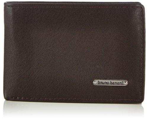 Bruno Banani Scheintasche Querformat Mini W 320.1239 Herren Geldbörsen 10x7x2 cm (B x H x T), Braun (braun)