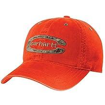 Carhartt Cedarville Cap - Color Naranja Sombrero Gorra de Beisbol logot  CH101470820BOR b4d06ee046b