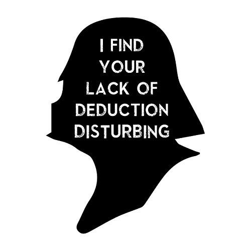 Star Wars Sherlock Vader Silhouette I Find Your Lack Women's Vest white
