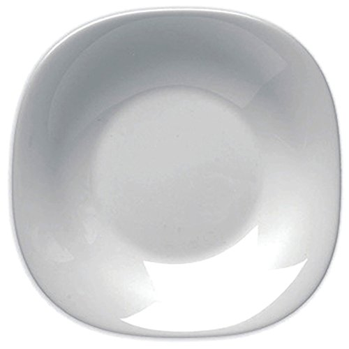BORMIOLI ROCCO 6238002 Parme 6 Assiettes Creuse 23 cm, Blanc